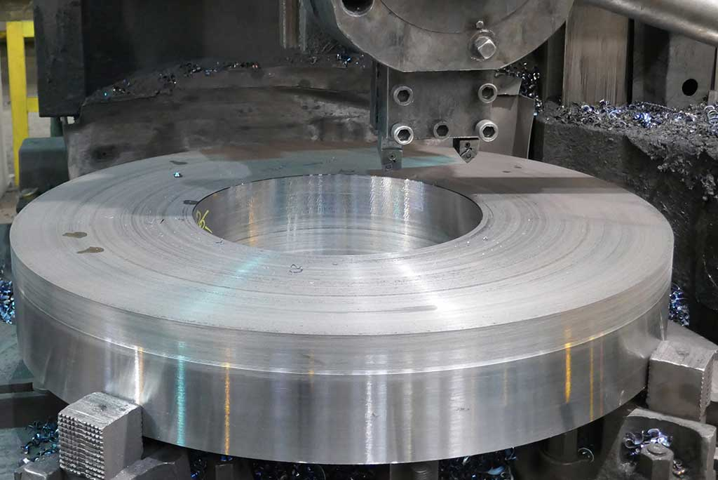 HALO Steelrings - machining